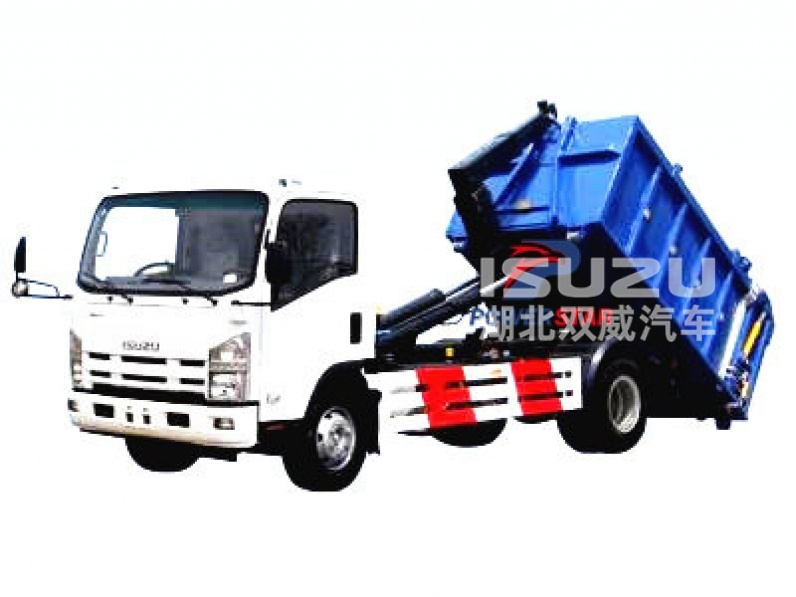 8ton hook arm garbage truck Isuuz