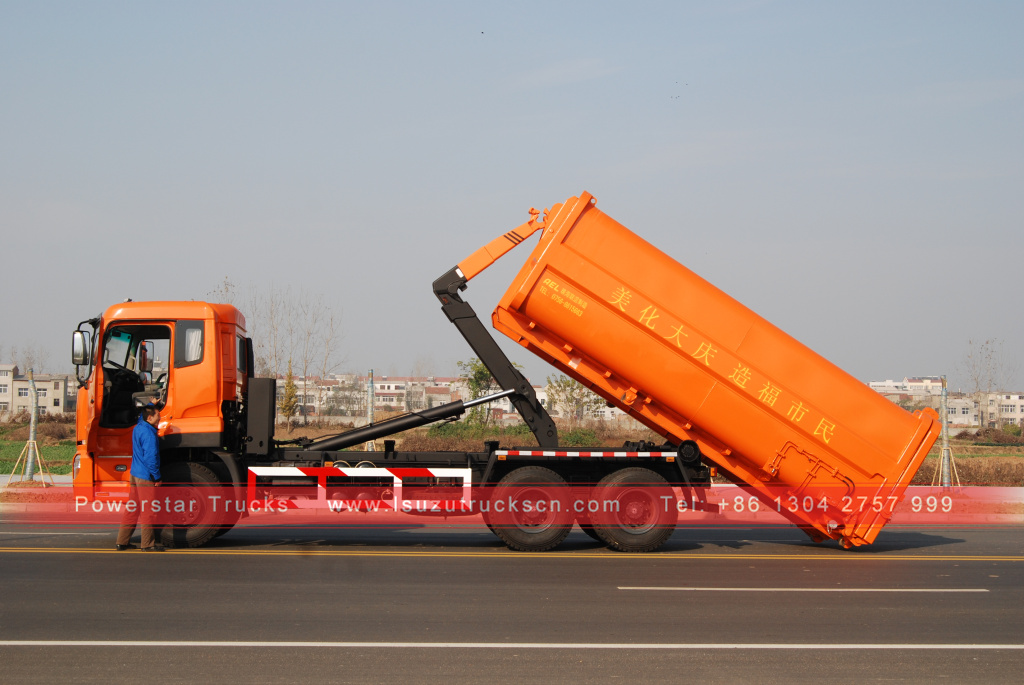New Style 18 20tons Hydraulic Lifter Container Hook Lift