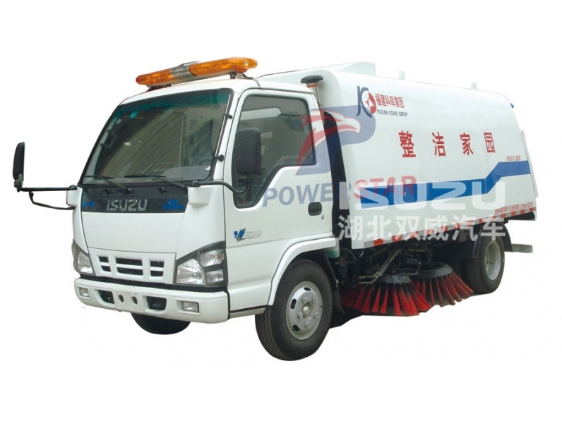 Japan brand street washers sweeper truck Isuzu