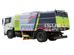 City Road brush sweeper truck Isuzu FTR FVR