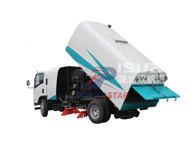 Road sweeping vehicle Isuzu