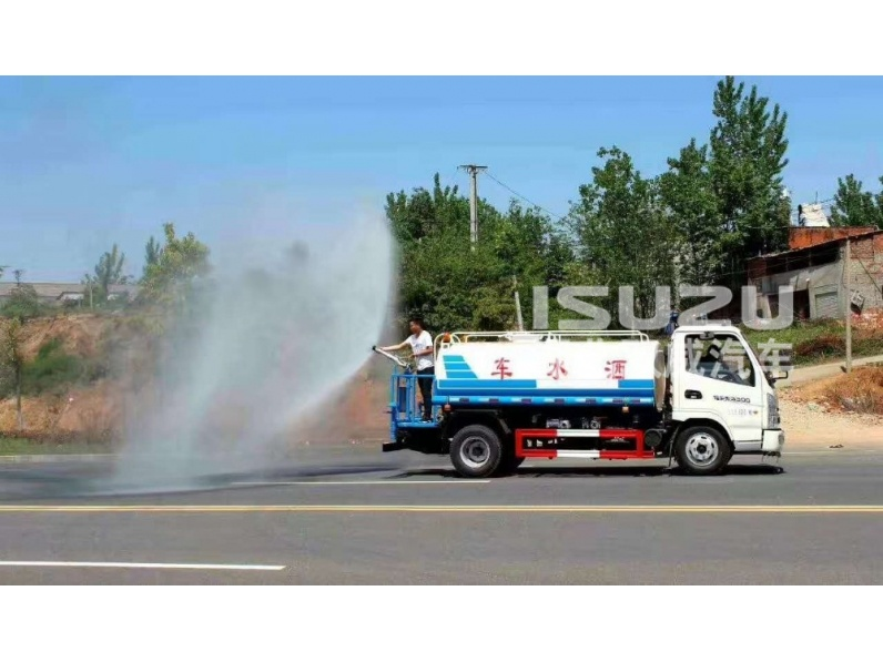 Low price Isuzu Water Tank Trucks For Sale