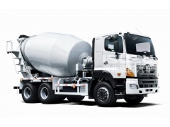HINO agitator tank Different size concrete mixer truck for sale