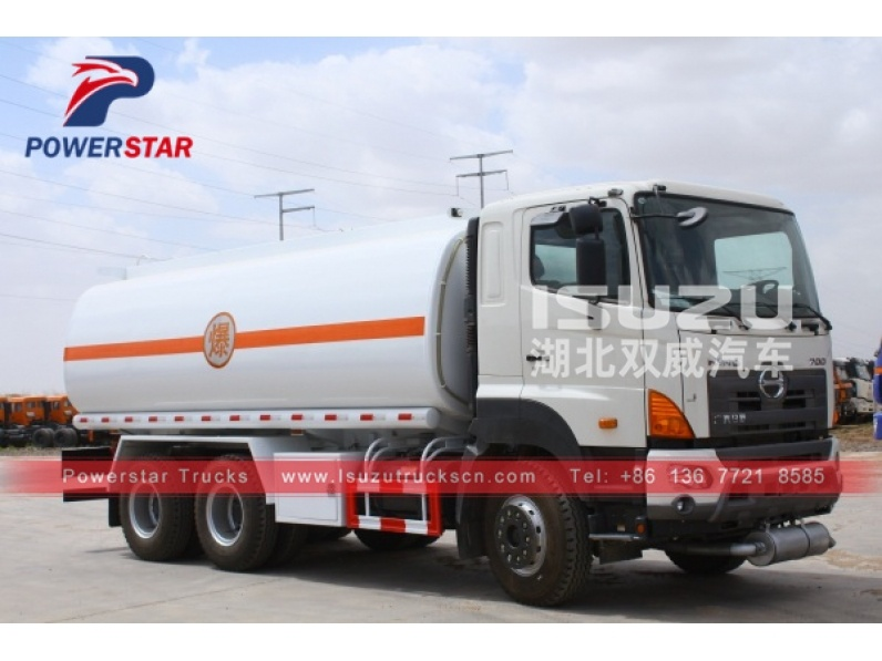 japan HINO Diesel Oil Transporter Capacity Fuel Tank Tanker Truck For Sale