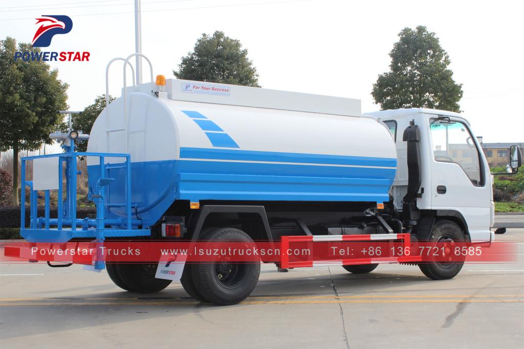 New Designed Philippines Isuzu Water Spray Tanker Trucks,Stainless