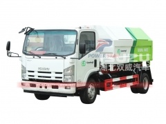Mongolia Arm-Roll Refuse Truck Isuzu for sale