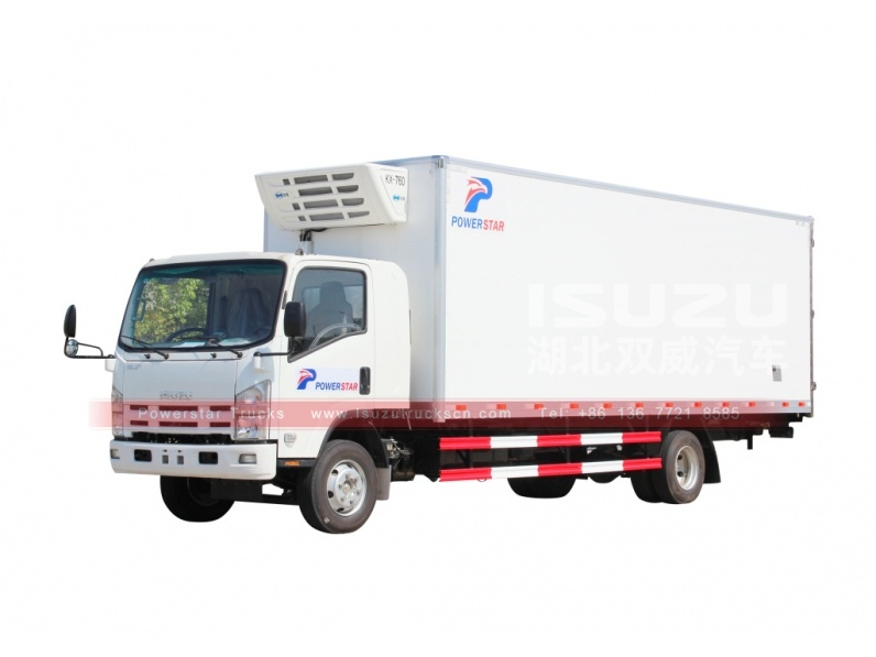 Japan 4x2 diesel refrigerated truck 10-15ton freezer truck for sale