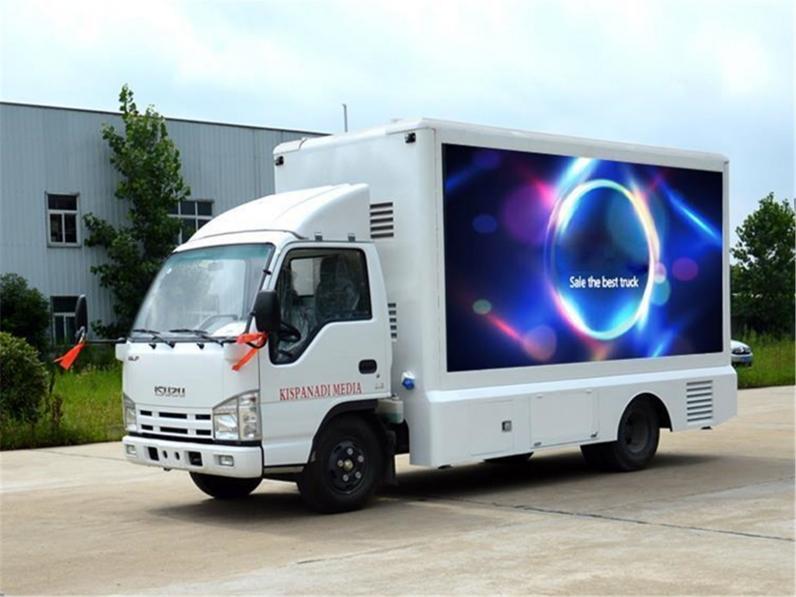 Mobile led trucks