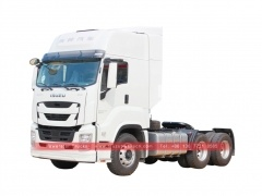 Japan ISUZU GIGA 6x4 heavy10 wheel wheeler 380 420 460 horse power tractor head prime mover