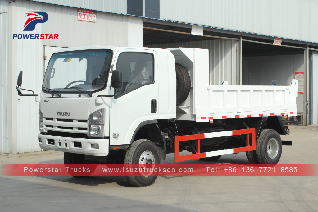 Hot Selling ISUZU ELF/700P/NPR 4x4 Mini Dump Truck For Sale