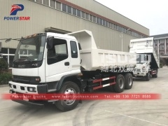 philippines Isuzu FVZ 6x4 10wheelers heavy dump tipper truck price