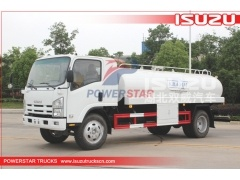 Philippines 5000Liters ISUZU Drinking Water Tank Truck for sale