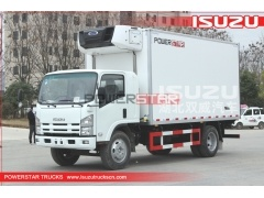 Isuzu Sandwich Panels Insulated Panel Refrigerated Truck for sale