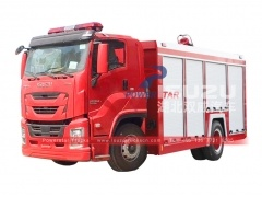 Japan ISUZU GIGA Emergency Vehicles and Rescue Truck