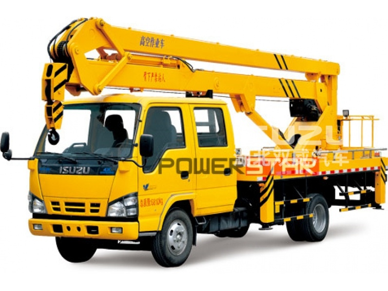 Bucket Trucks Isuzu Aerial lift truck