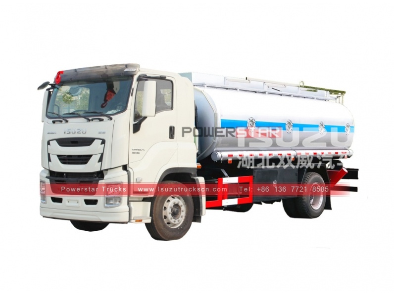 ISUZU GIGA fuel dispensing truck oil tankers for sale
