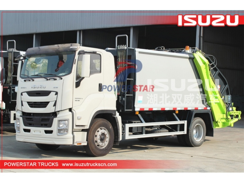 ISUZU GIGA Waste compactor truck for sale