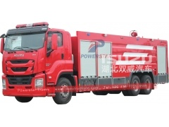 ISUZU GIGA Brand water foam fire engine trucks