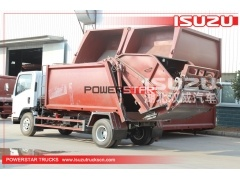 2020 brand new High quality 8 cbm Waste compactor truck ISUZU for sale