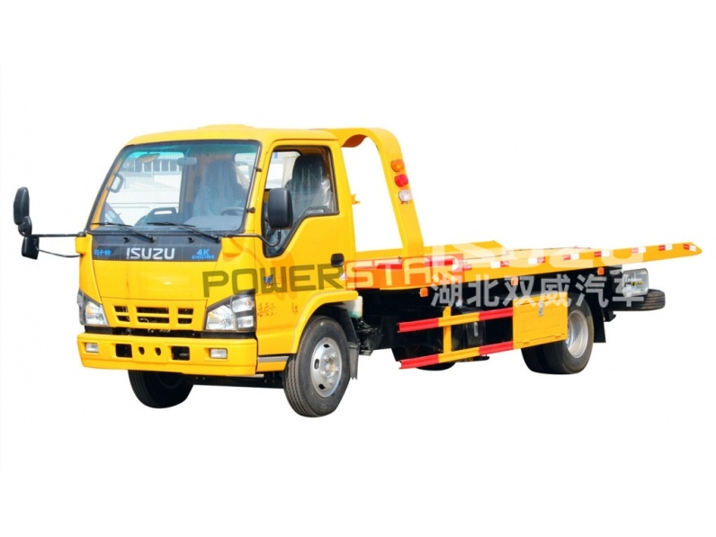 Japanese 3Tons Isuzu Road Wrecker Truck Emergency Rescue Vehicle