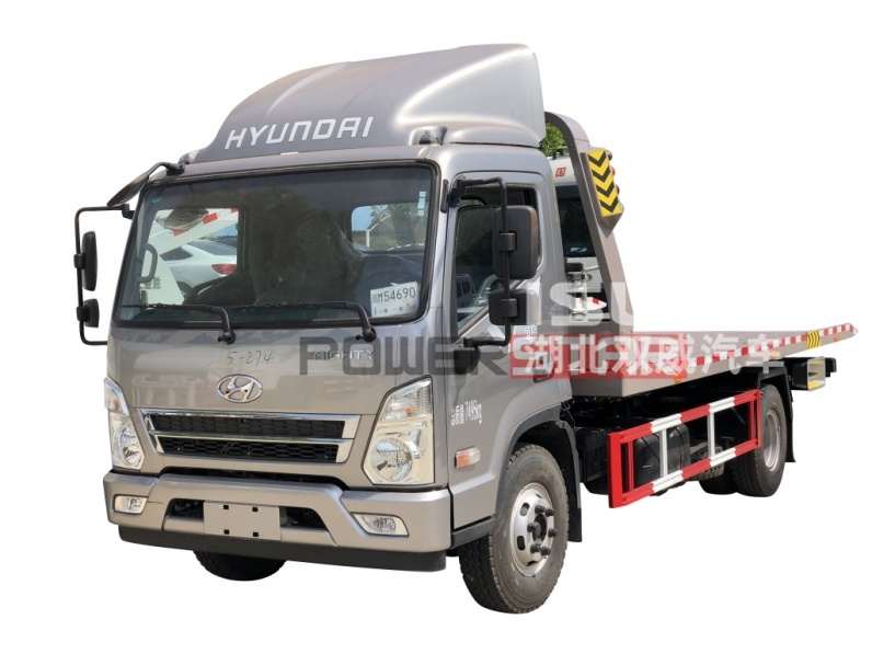 Wrecker towing vehicle hyundai Recovery wrecker truck,