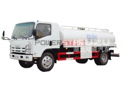 Philippines 9000Liters ISUZU Drinking Water Tank Truck for sale