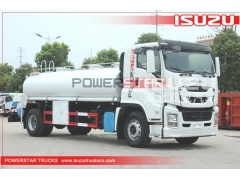 Japanese  ISUZU giga 20000 Liters Stainless Steel Material Drinkable Water Tank Truck for Sale