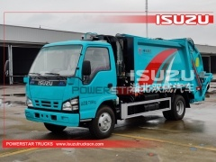 High Quality ISUZU 4X2 Small Garbage Truck From Manufacturer