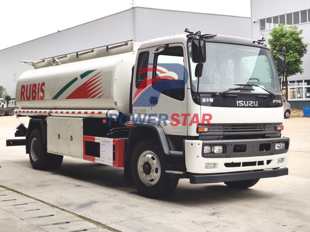 Philippines ISUZU FTR Fuel oil Tanker trucks 16,000L