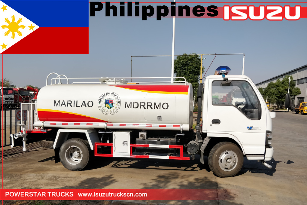 Philippines marilao - 1 unit ISUZU Water spray Truck