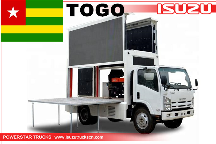 TOGO - Mobile LED Advertising truck Isuzu