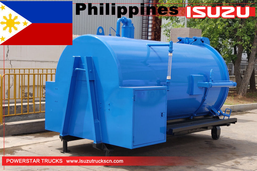 Philippines - 1 set Vacuum Tanker Body Kit