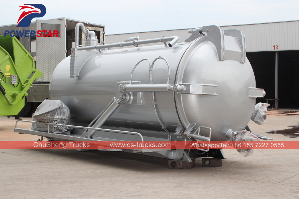 vacuum pump truck super structure manufacturer