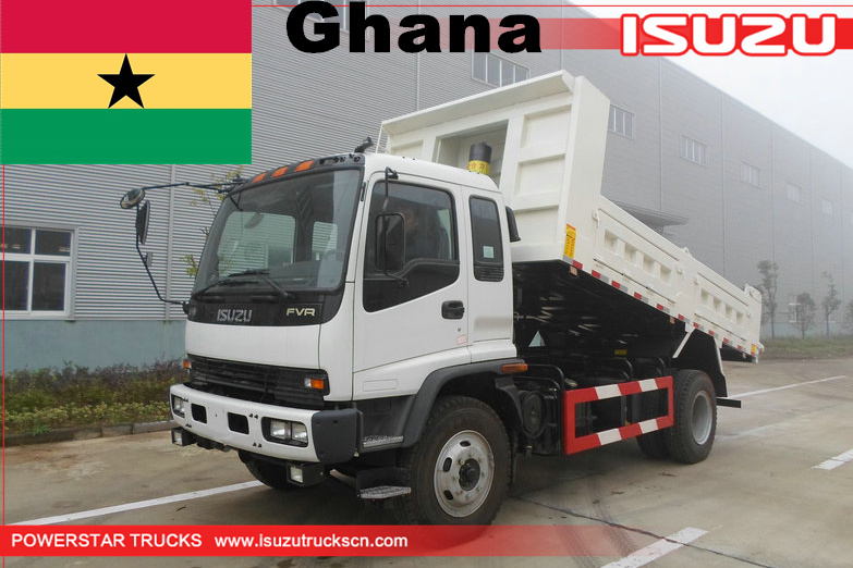 Ghana - 1 unit ISUZU FVR dump tipper trucks