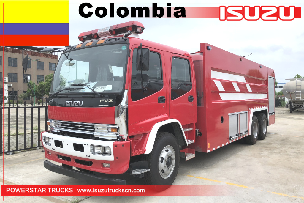 Colombia - 1 unit Water Fire Truck Isuzu