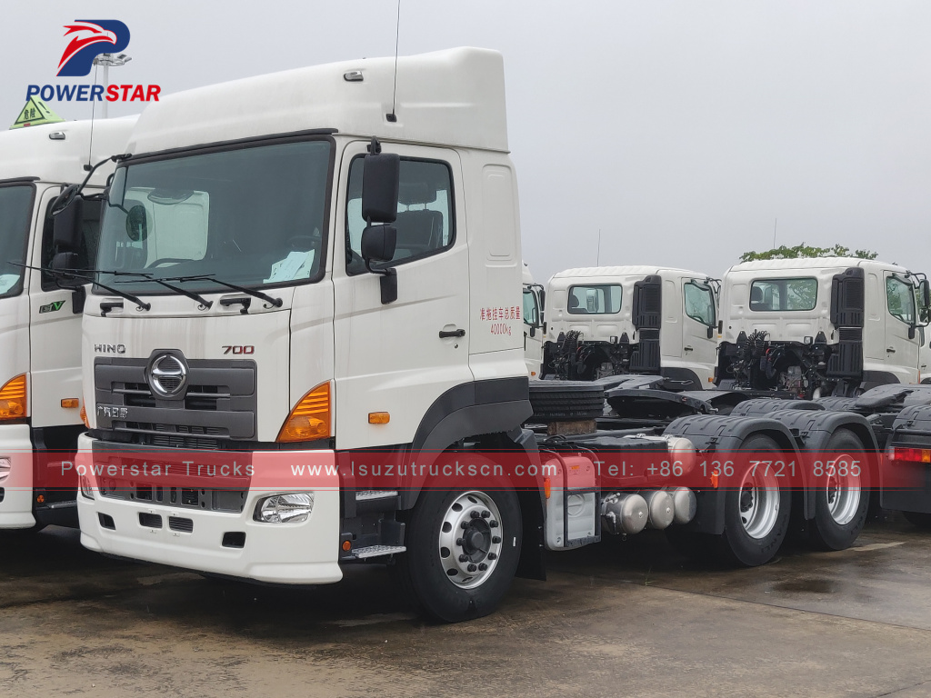 Philippines 6X4 Hino Tractor Head/Prime Mover for sale