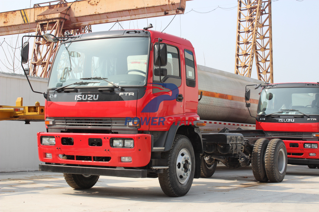 FTR FVR Fire Fighting Truck chassis with 4HK1 engine