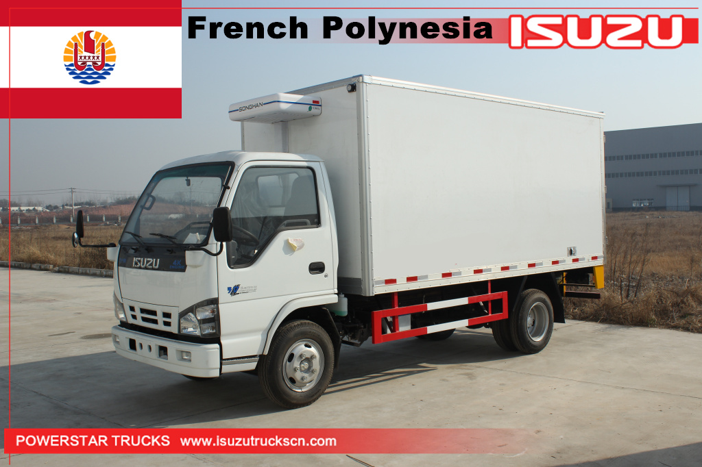 Franch Polynesia - 2 units Freezer Trucks Isuzu