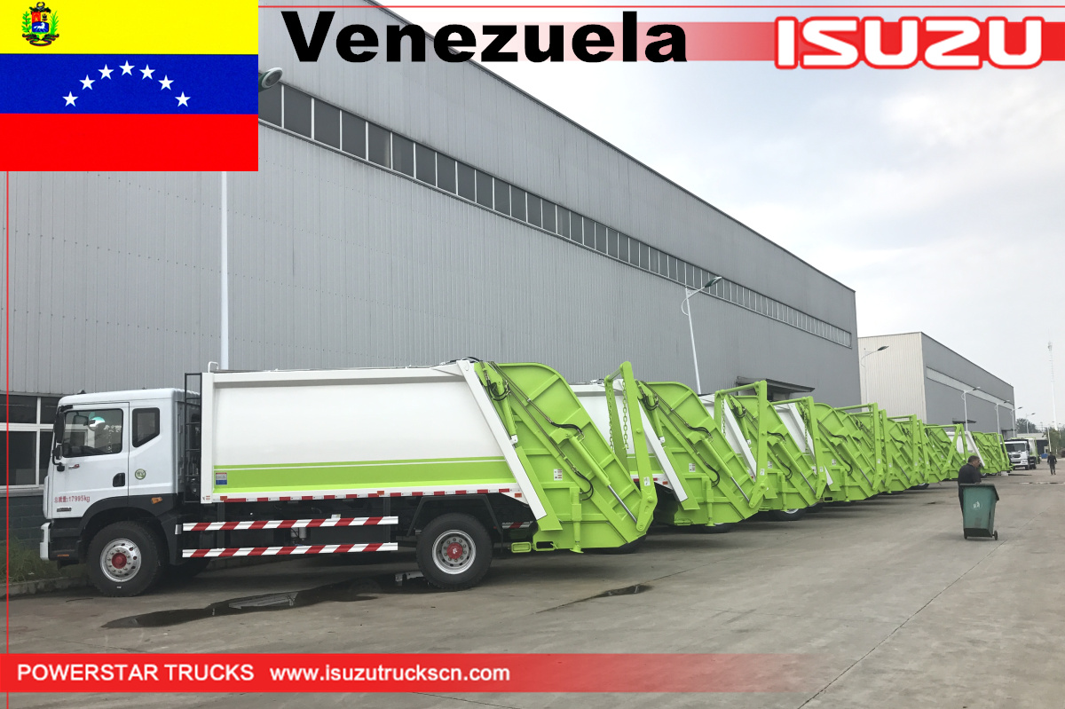 Venezuela - 12 Units Waste Compactor Vehicle 10m3