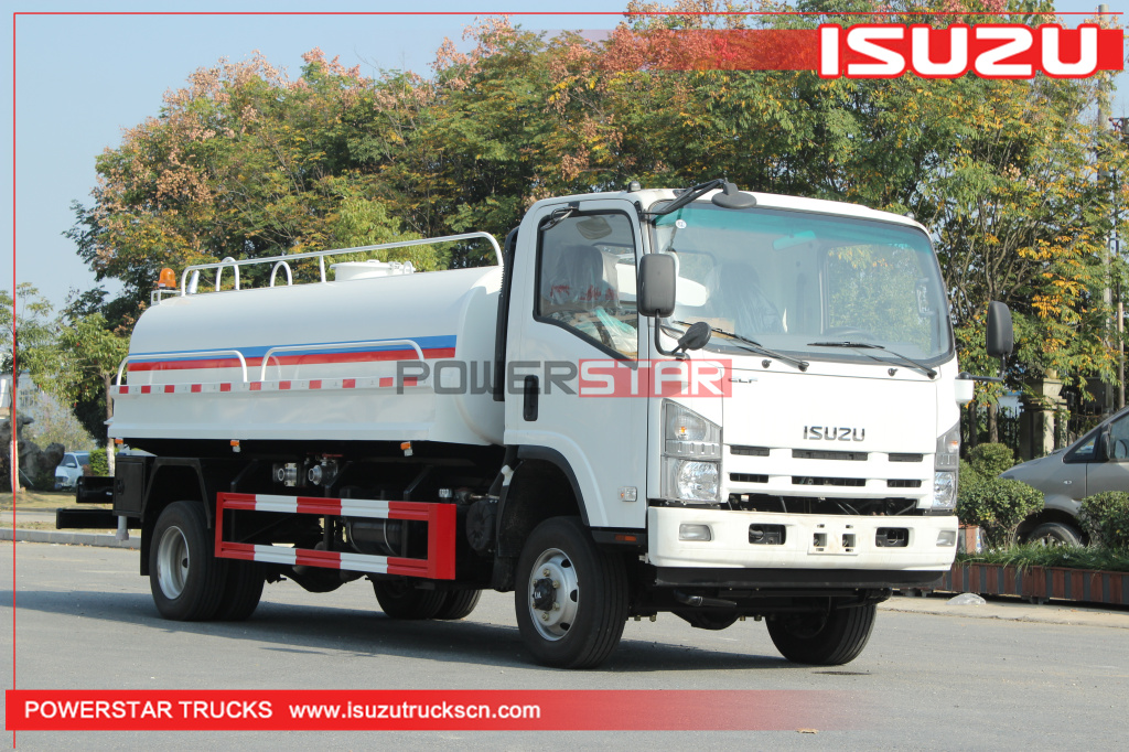 Philippines ISUZU 4WD ISUZU Off road Water Tanker Sprinkler Trucks