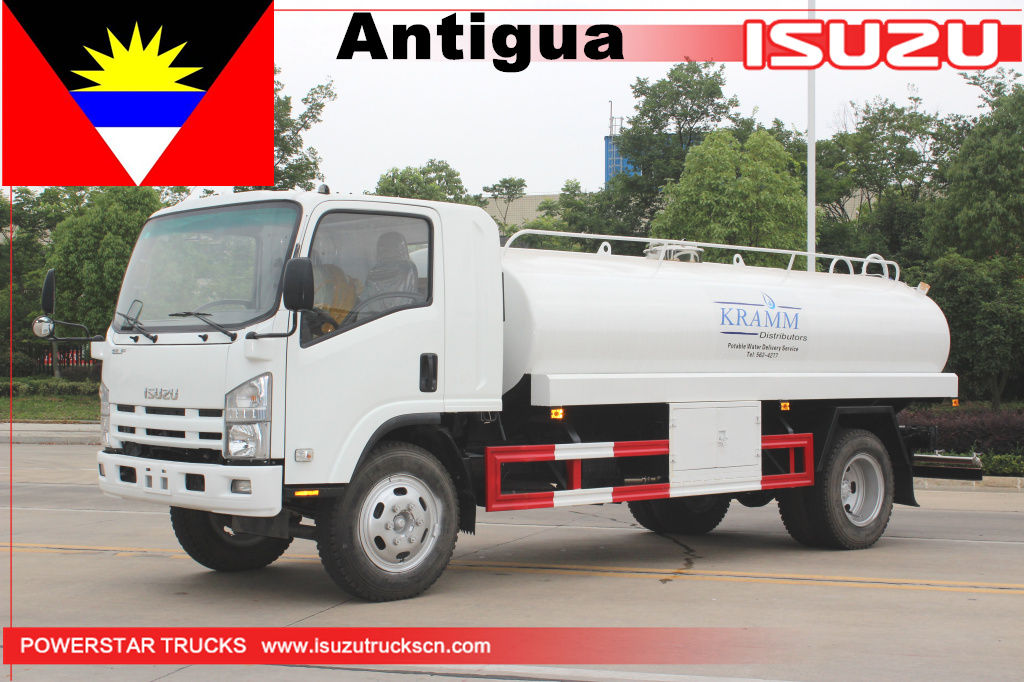 Antigua - 1 unit Potable drinking water truck