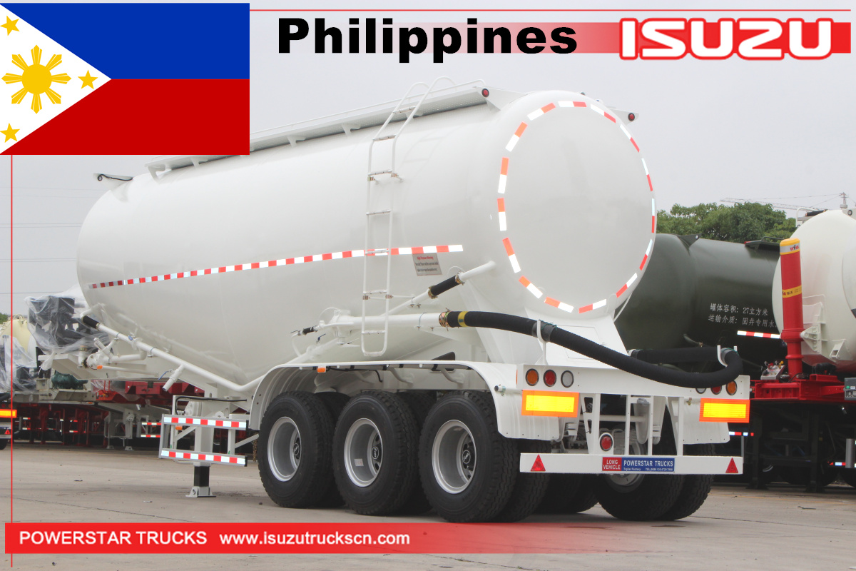 Philippines - 12 Units of Bulk cement semi trailer 35cbm