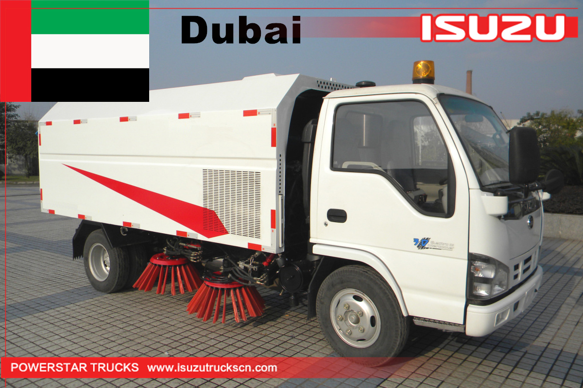 Dubai - 1 Unit ISUZU Road Sweeper Truck