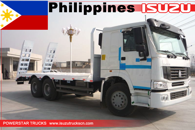 Philippines 1 unit of HOWO Self Loader Truck