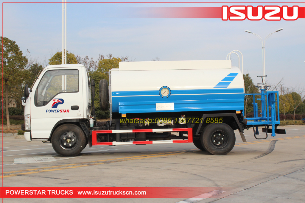 100% Factory price Water sprinkler truck ISUZU for sale