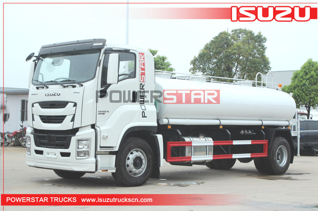 Philippines ISUZU GIGA Drink Water Truck Potable Water Truck