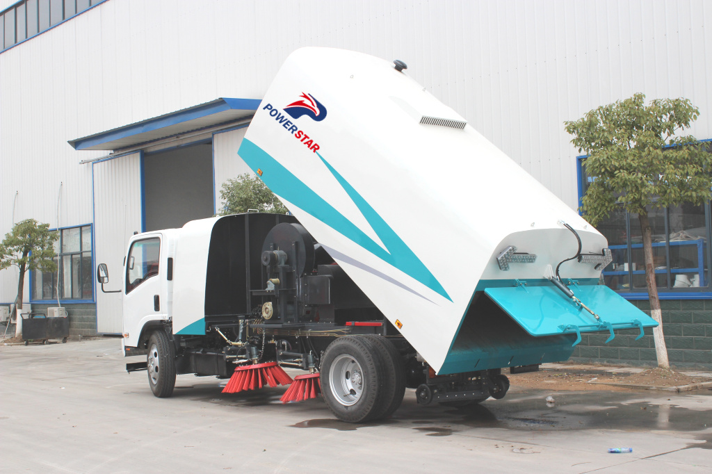 8m3/ 10m3 Isuzu NPR ELF 4X2 Road/ Street Sweeper Cleaner Truck