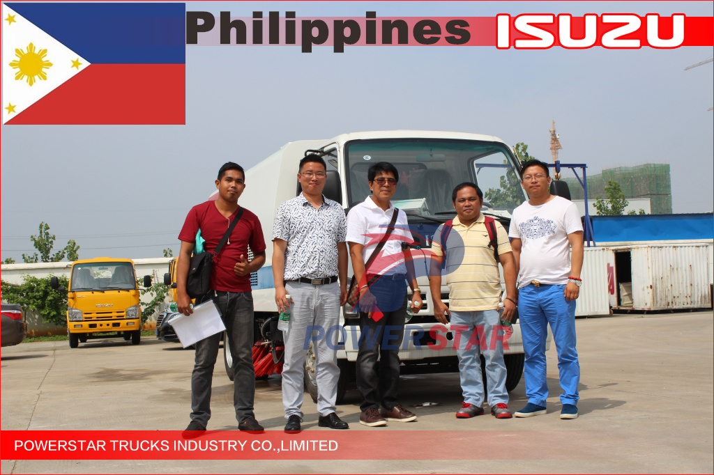 Philippines 5cbm Isuzu Road Sweeper