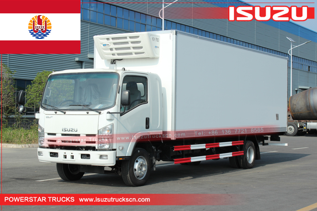 French Polynesia - 4 units ISUZU Freezer Truck