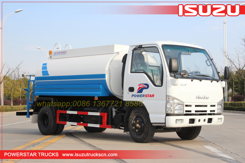 Africa Water bowser ISUZU Water spray vehicle